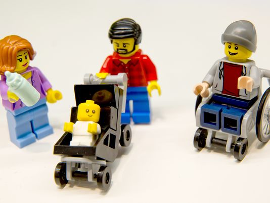 LEGO introduces first figure with disability