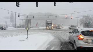 New England digs out from first big snow