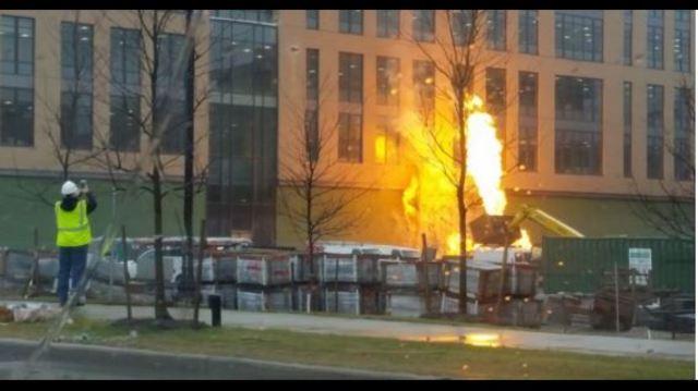 Social Media Reacts To Crocker Park Fire