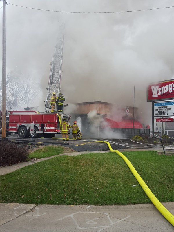 Fast Cars Under 30K >> Crews battle large fire at Massillon Wendy's | WKYC.com