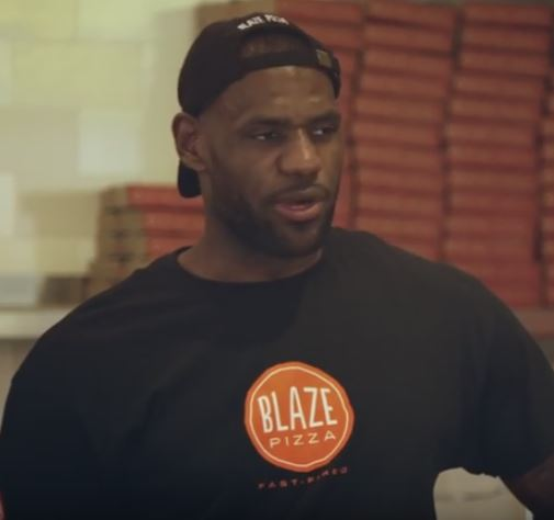 LeBron James pranks pizza store customers by going undercover as 'Ron'