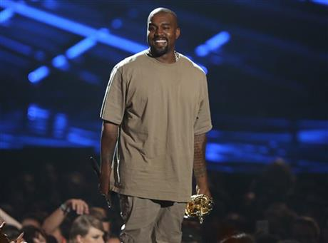 APNewsBreak: Man sues Kanye West, Tidal, over new album