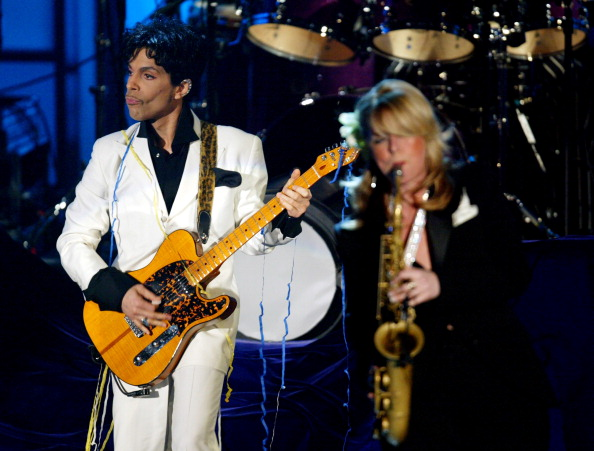 PHOTOS   Prince's Rock and Roll Hall of Fame induction