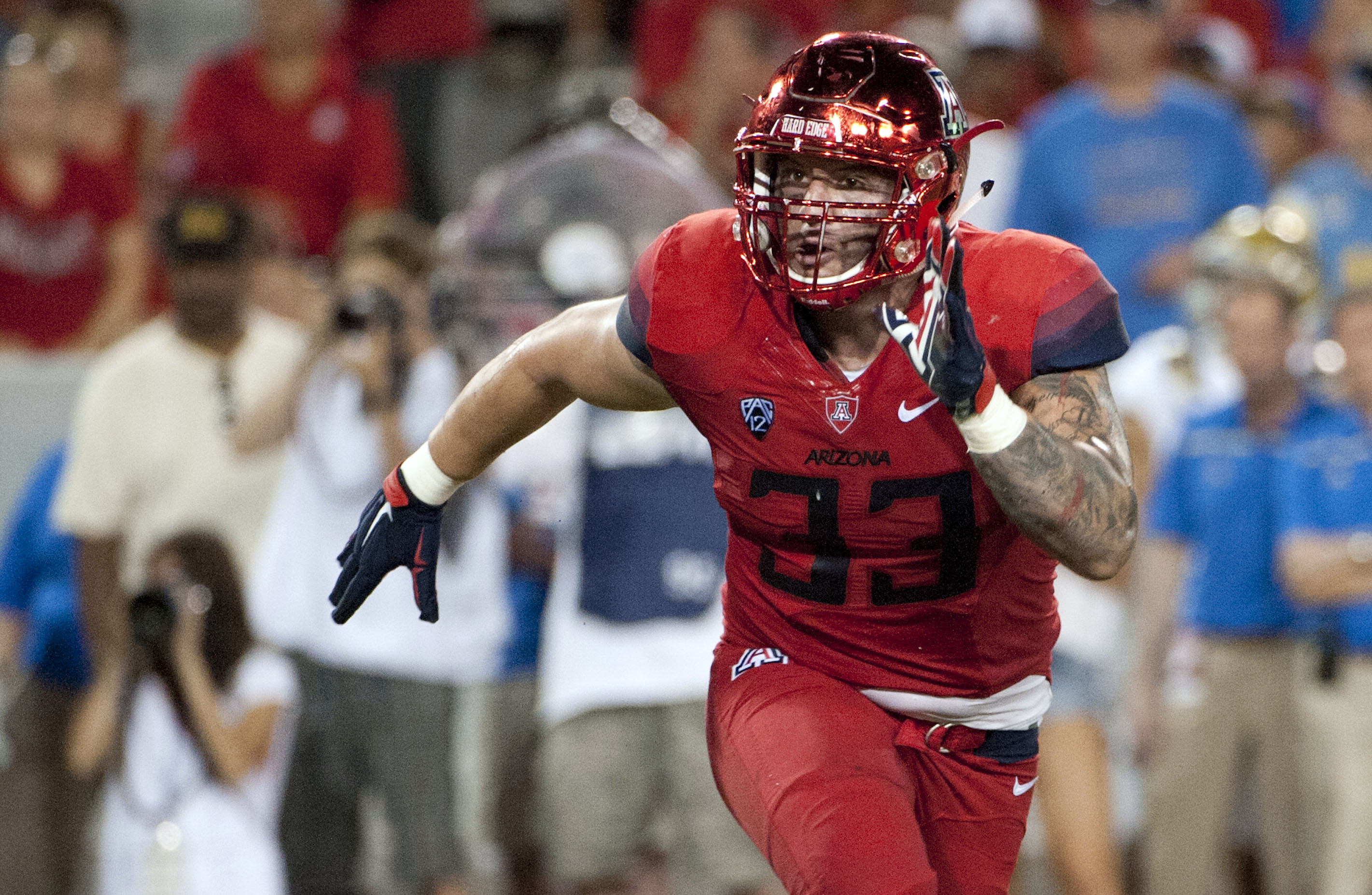 Cleveland Browns select ILB Scooby Wright III with final pick