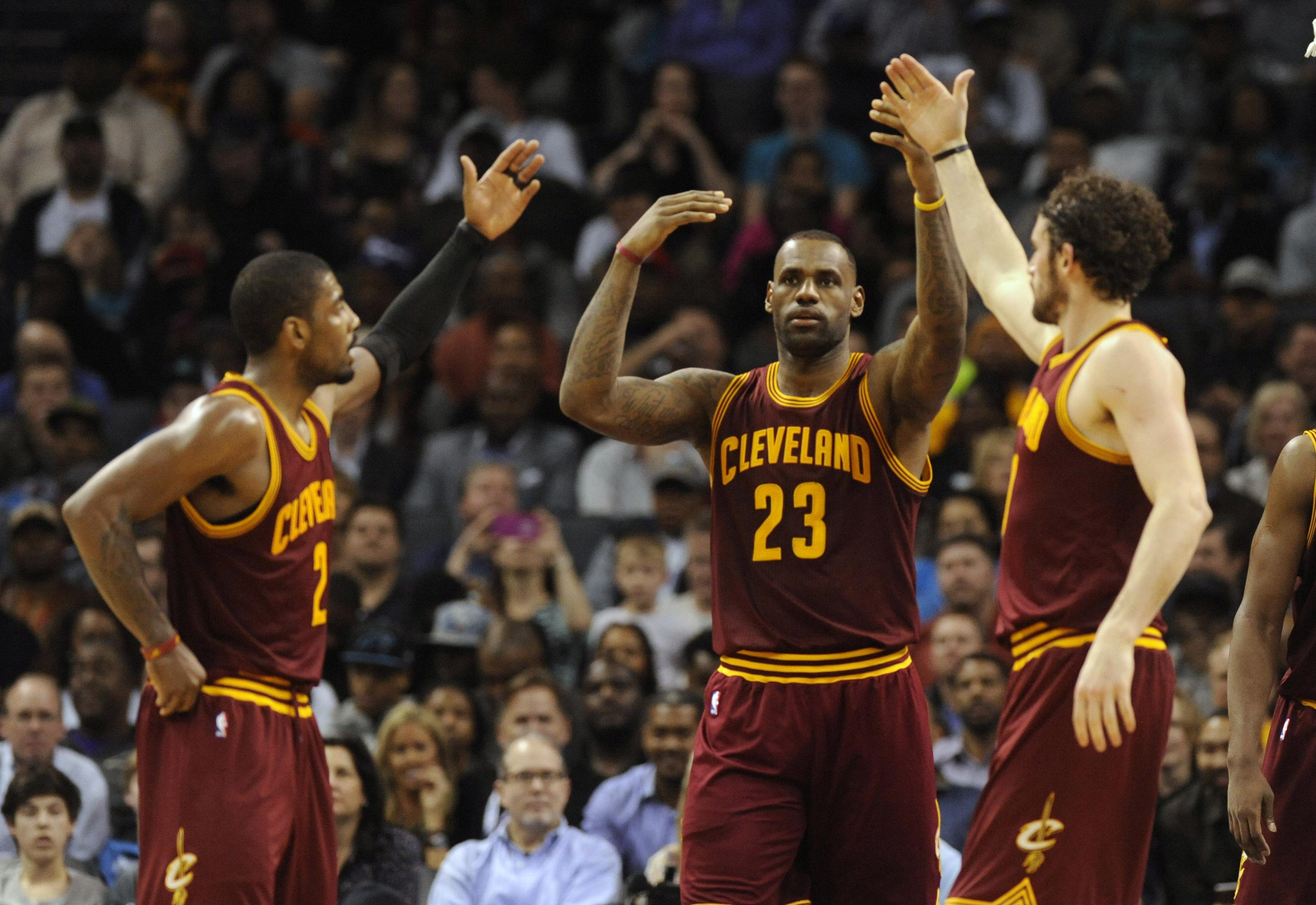 Healthy Big Three Leads Cleveland Cavaliers Into Nba Finals Wkyc Com
