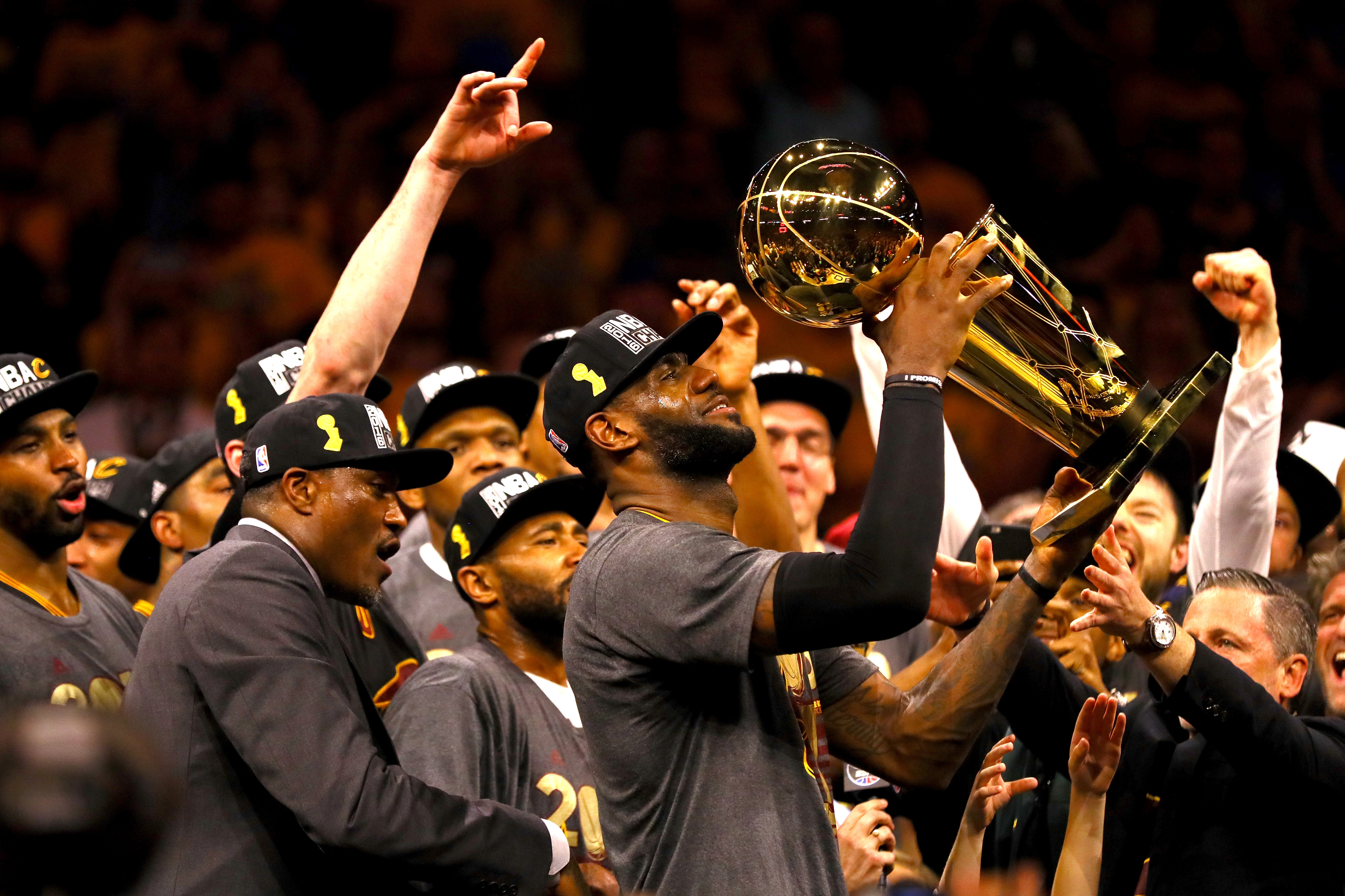 LeBron James confirms he'll stay in Cleveland next year
