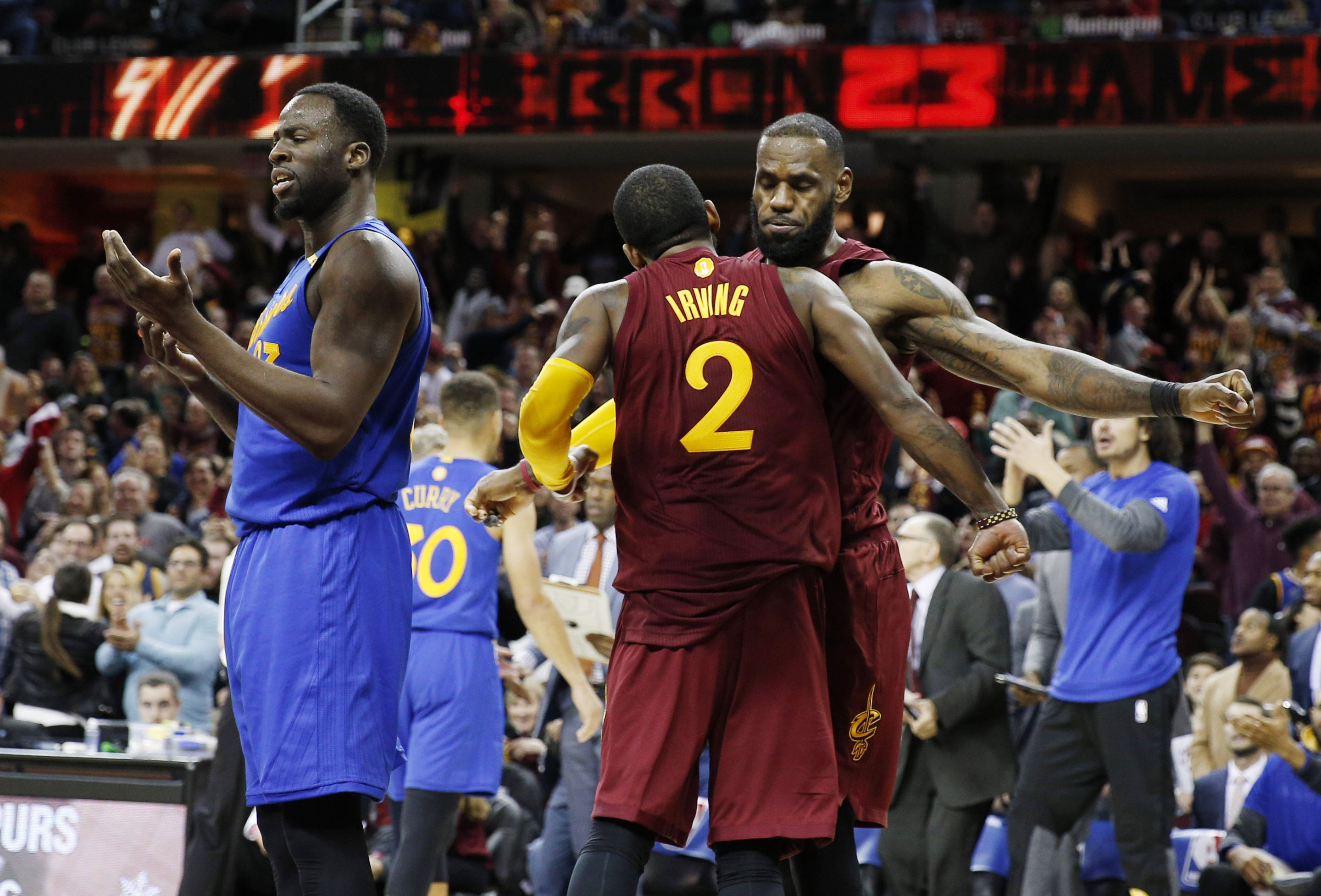 Cleveland Cavaliers feel there's no rivalry with Golden State ...
