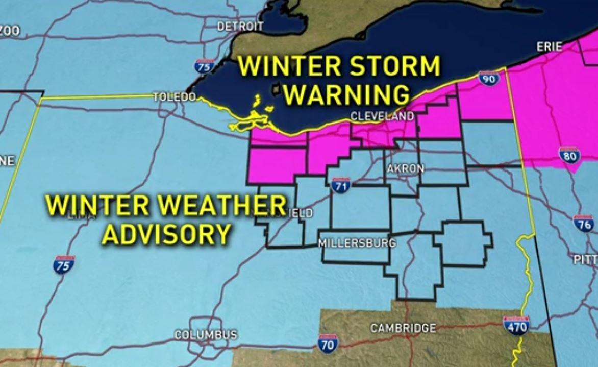 Ohio Weather Radar Map Europe Spring Forecast Winter To - Weather radar map detroit