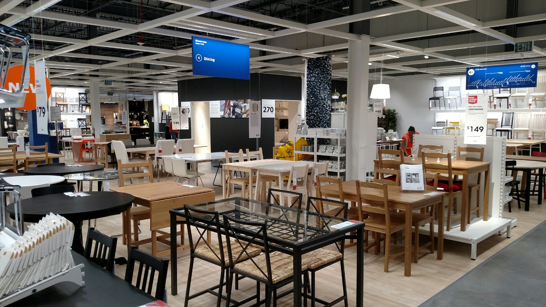 inside ohio 39 s new ikea columbus store first look. Black Bedroom Furniture Sets. Home Design Ideas