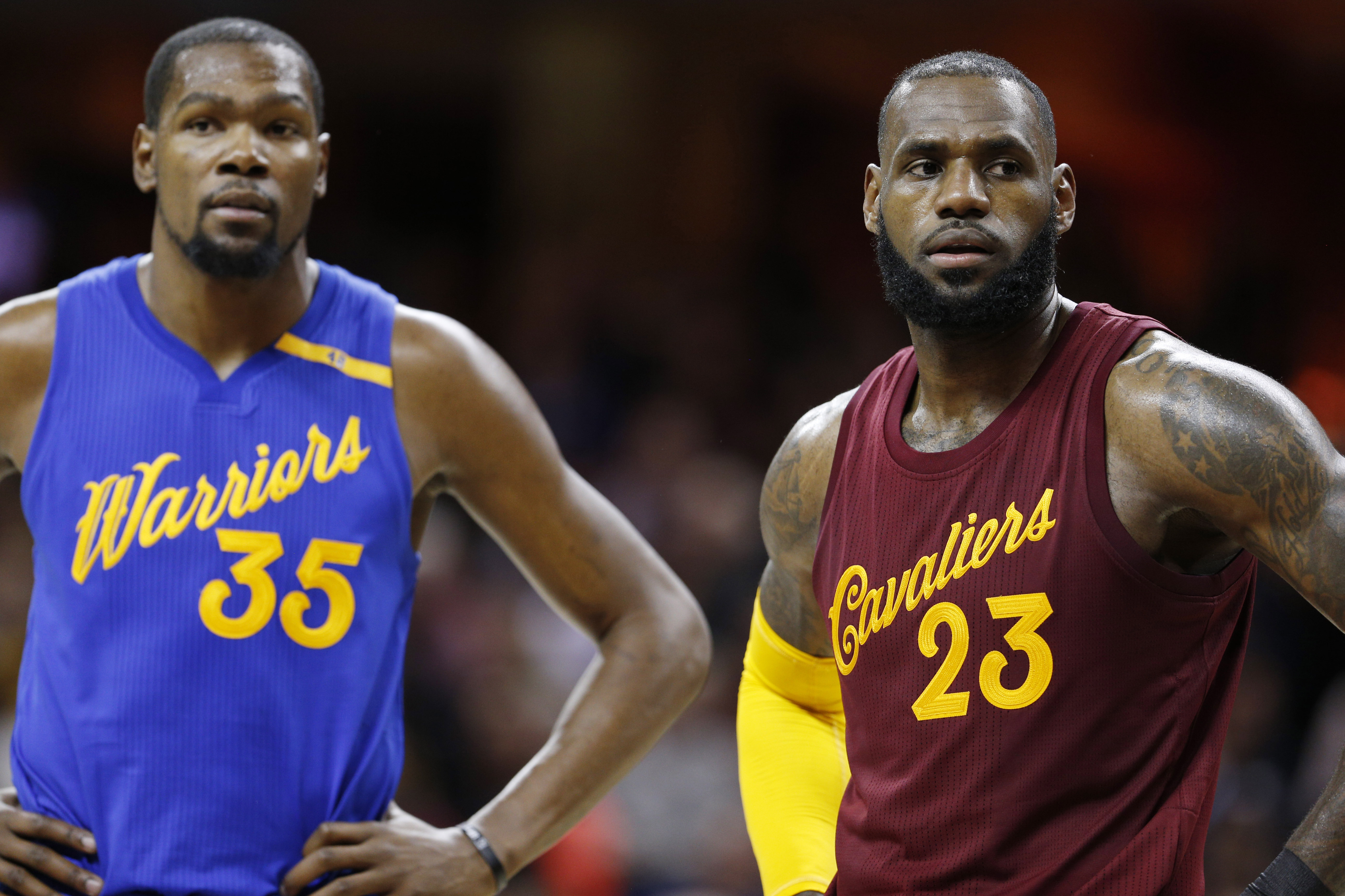 Cleveland Cavaliers' LeBron James says Kevin Durant even more ...