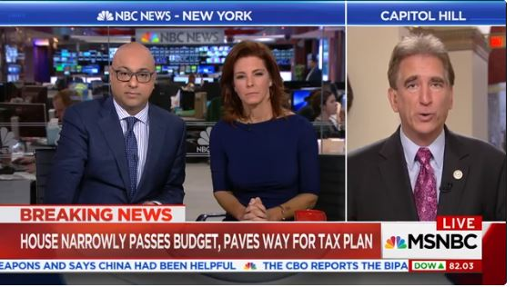 Rep. Jim Renacci Debates Trump's Tax Plan With MSNBC's Velshi and Ruhle