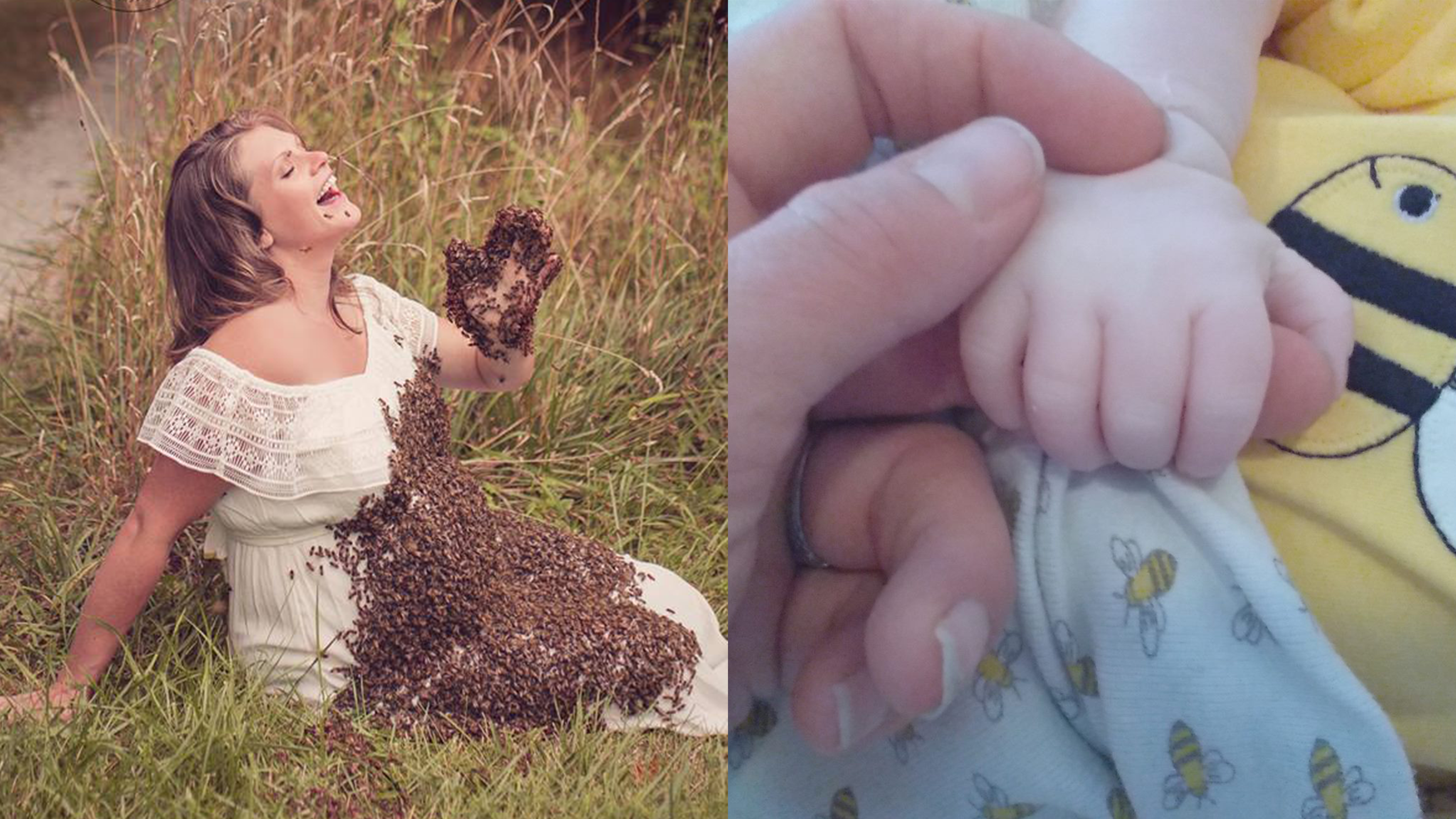 Akron woman in viral bee maternity photo loses baby