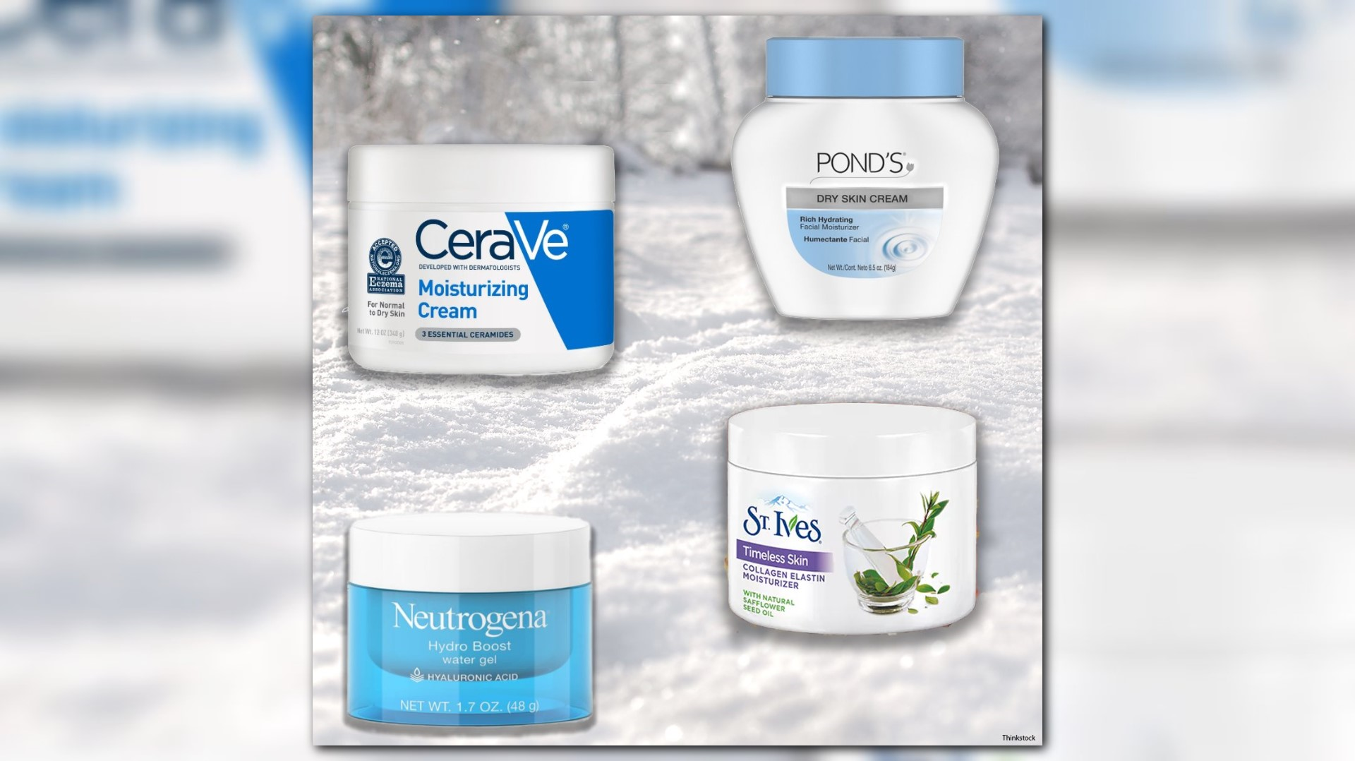 Four drugstore moisturizers to keep your skin hydrated this winter