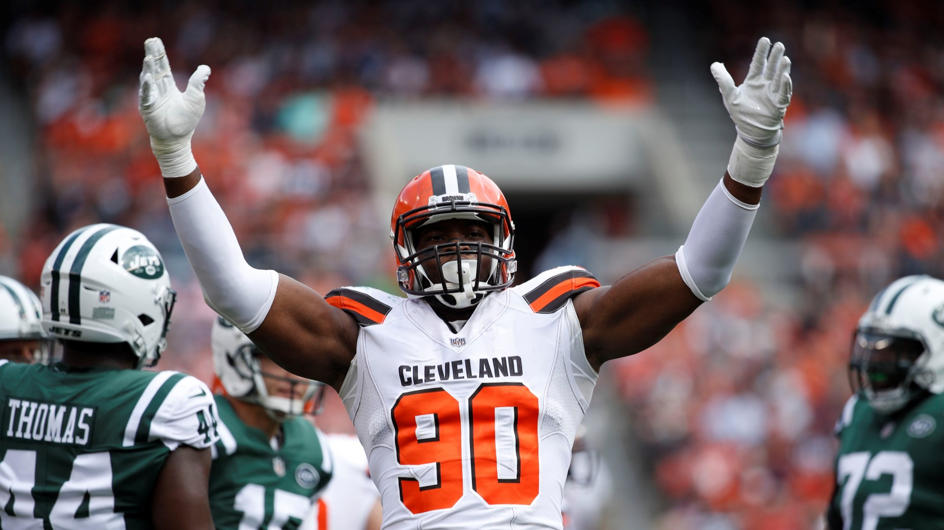 Emmanuel Ogbah: Emmanuel Ogbah On Perfect Season Parade: 'Don't