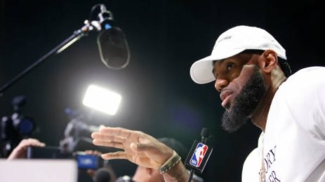 LeBRON JAMES SAYS | To Laura Ingraham's criticism: 'Thank you, whatever her name is.'
