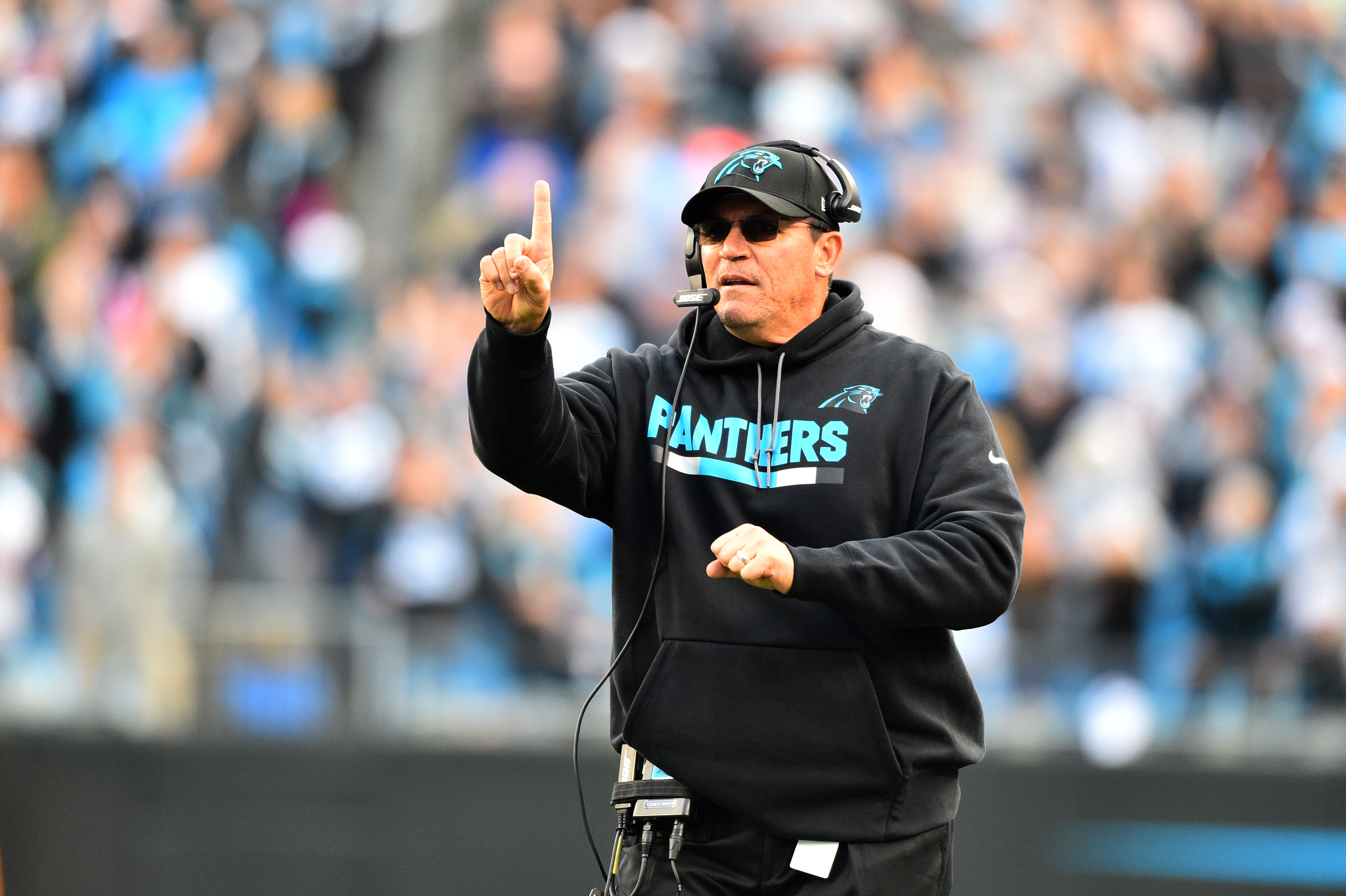 Ron Rivera, Carolina Panthers placing heavy focus on running backs at 2018 NFL Scouting Combine