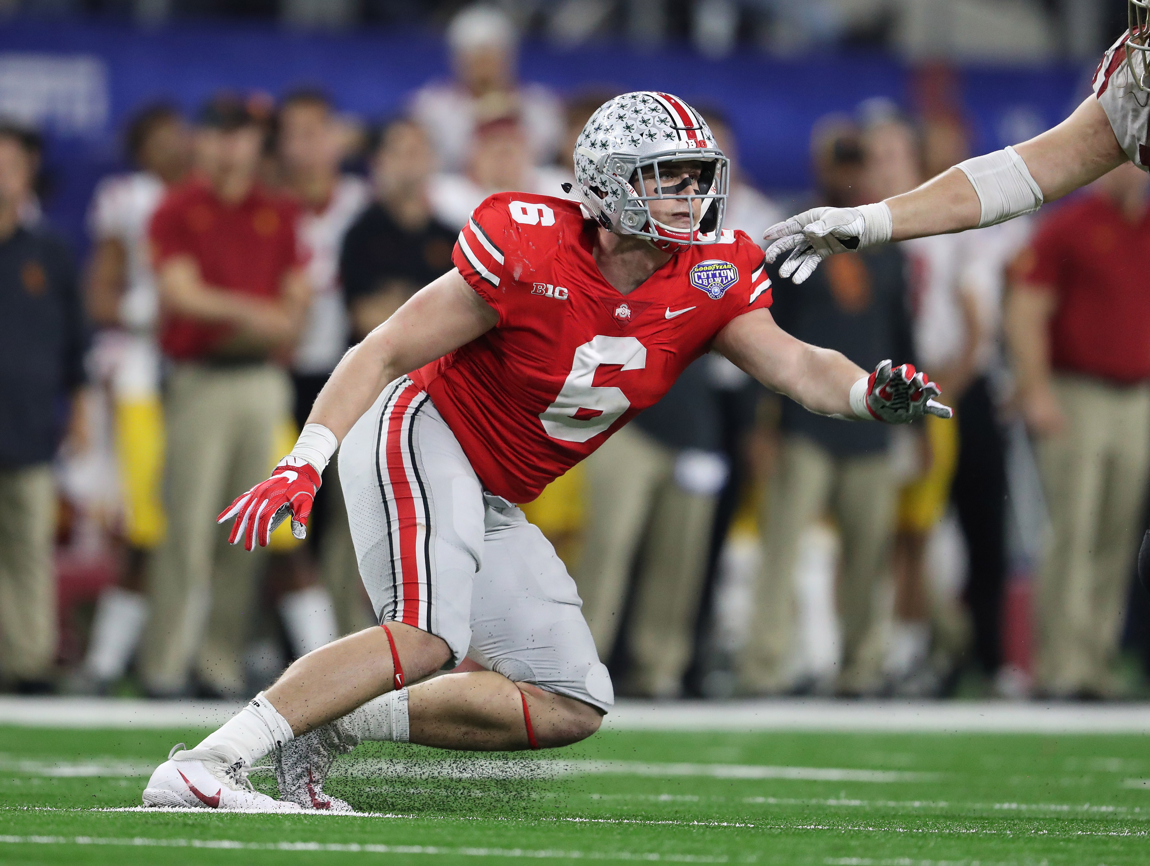 LIVE UPDATES: Edge rushers, interior linemen, linebackers take field at 2018 NFL Scouting Combine
